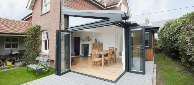 Luxurious conservatory bi fold doors 96 in brilliant home remodel ideas with conservatory bi fold doors